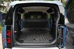 Land Rover Defender Hard Top 2021 rear door open