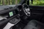 Land Rover Defender Hard Top 2021 interior front seats