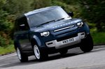 Land Rover Defender Hard Top 2021 front cornering