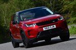 Land Rover Discovery Sport 2021 front cornering