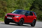 Land Rover Discovery Sport 2021 front left cornering