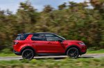 Land Rover Discovery Sport 2021 right tracking