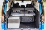 Volkswagen Caddy California 2021 rear door open