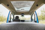Volkswagen Caddy California 2021 interior bed