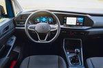 Volkswagen Caddy California 2021 interior dashboard