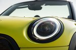 Mini Convertible 2021 headlight detail