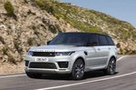 Land Rover Range Rover Sport 2021 front left tracking