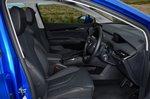 Skoda Enyaq iV 2021 interior front seats