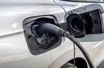 Skoda Enyaq 2021 charging socket detail