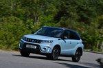 Suzuki Vitara 2021 front left cornering