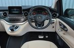 Mercedes V-Class 2021 interior dashboard