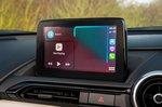 Mazda MX-5 RF 2021 interior infotainment