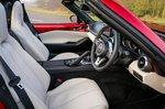 Mazda MX-5 RF 2021 interior front seats