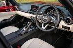 Mazda MX-5 RF 2021 interior dashboard