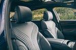 Genesis G80 2021 interior front seats