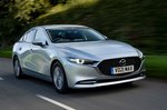 Mazda 3 Saloon 2021 front right tracking