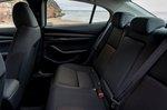 Mazda 3 Saloon 2021 interior rear seats
