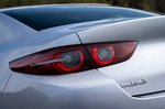 Mazda 3 Saloon 2021 rear light detail