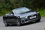 Audi A5 Cabriolet 2021 front right tracking