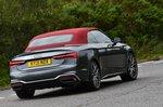 Audi A5 Cabriolet 2021 rear cornering