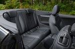 Audi A5 Cabriolet 2021 interior rear seats