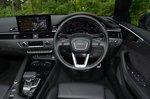 Audi A5 Cabriolet 2021 interior dashboard