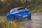 2021 Vauxhall Corsa rear left tracking