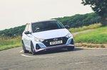 Hyundai i20 N 2021 front cornering