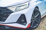 Hyundai i20 N 2021 headlight detail