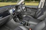 Ssangyong Korando 2021 interior rear seats