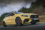 Mercedes-AMG A45 S 2021 right tracking