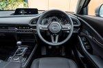 Mazda CX-30 2021 interior dashboard
