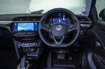 2021 Vauxhall Corsa RHD dashboard