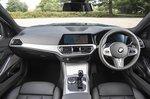BMW 3 Series Touring 2021 interior dashboard