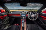Porsche Cayman GT4 2021 interior dashboard