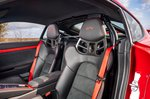 Porsche Cayman GT4 2021 interior front seats