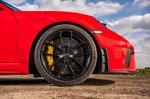 Porsche Cayman GT4 2021 alloy wheel detail