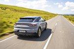 Porsche Cayenne Turbo GT 2021 rear tracking
