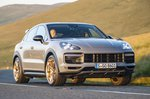 Porsche Cayenne Turbo GT 2021 front right tracking