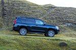 Toyota Land Cruiser 2021 right tracking