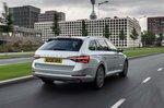 Skoda Superb iV Estate 2021 rear right tracking