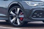 Volkswagen Golf GTE 2021 alloy wheel detail