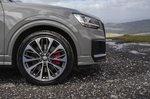 Audi SQ2 2021 alloy wheel detail