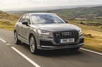 Audi SQ2 2021 front right tracking