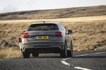 Audi SQ2 2021 rear cornering