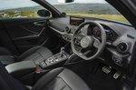 Audi SQ2 2021 interior front seats