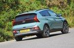 2021 Hyundai Bayon rear cornering