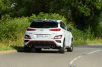 Hyundai Kona N 2021 rear tracking