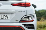 Hyundai Kona N 2021 rear lights detail