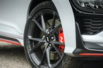Hyundai Kona N 2021 alloy wheel detail